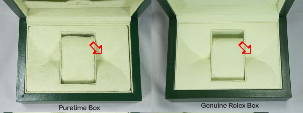 Genuine Rolex DSSD box vs Puretime Box (Loads of images and